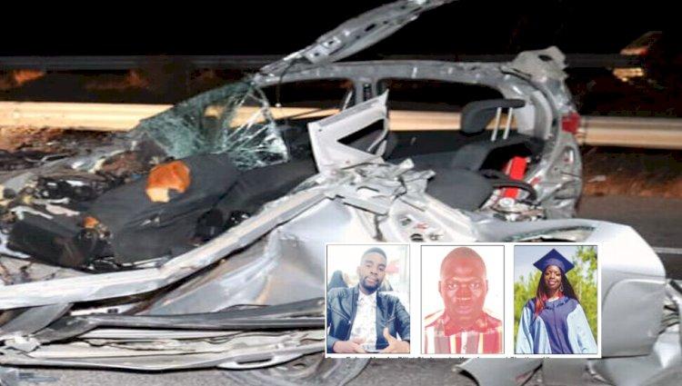 Three killed in car crash