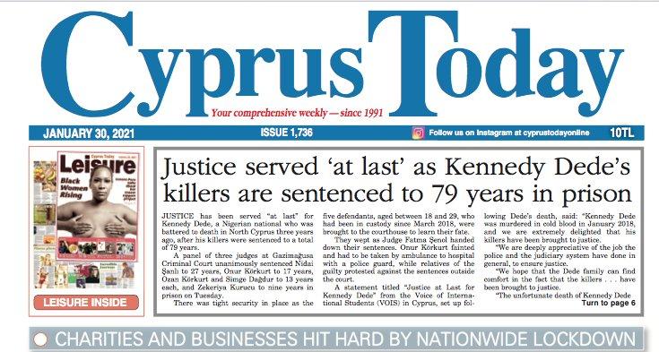 Cyprus Today 30 January 2021