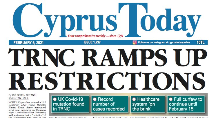 Cyprus Today 6 February 2021