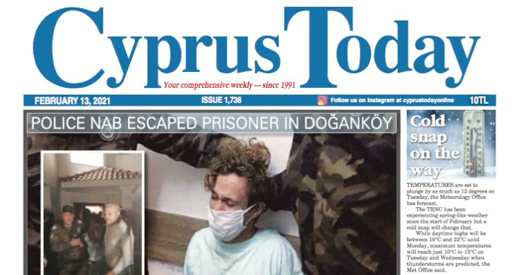 Cyprus Today 13 February 2021