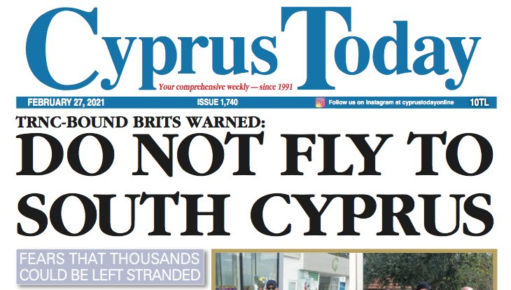 Cyprus Today February 27,2021
