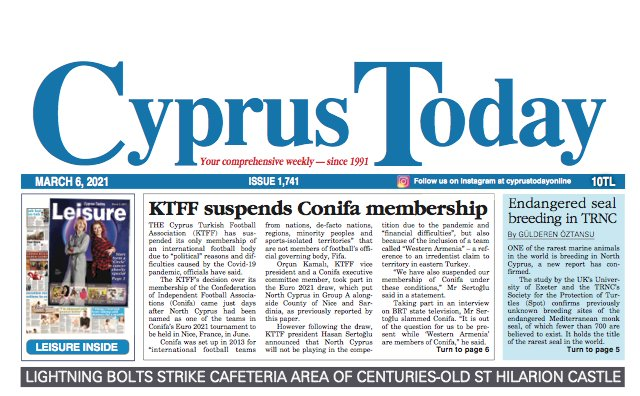 Cyprus Today 6 March 2021