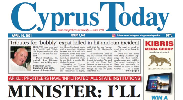 Cyprus Today 10 April 2021