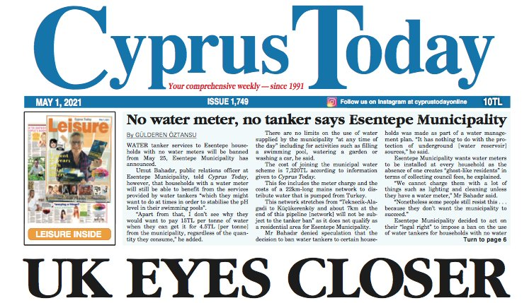 Cyprus Today 1 May 2021